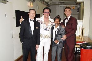 Rusty mit den Rat Pack from Las Vegas