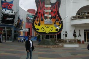 Hard Rock Cafe in den Universal Studios in Los Angeles