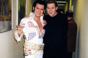 Rusty mit Johnny Logan 1995