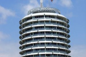 Capitol Records in Los Angeles