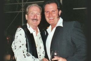 Rusty mit James Burton - Leadguitar von Elvis Presley