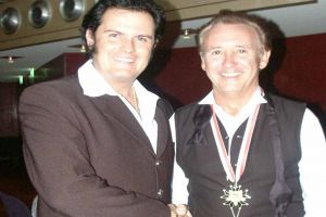 Rusty mit Tony Christie